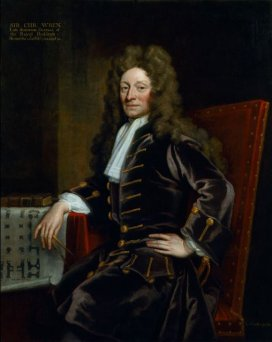 Christopher Wren by Godfrey Kneller 1711