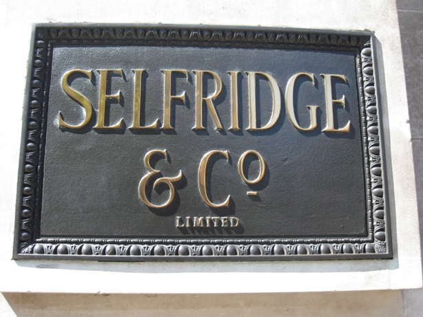 Selfridges_nameboard